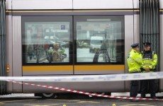 Luas security guard stabbed after intervening in row