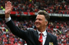 Manchester City are worried by United's form, says Van Gaal