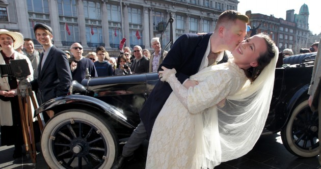 Pictures: Thousands pack O'Connell Street for Rising event