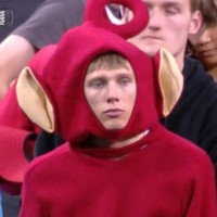 This devastated Teletubby will speak to the soul of every sports fan