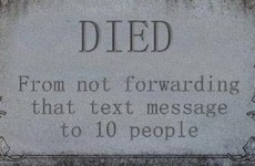 What do you want it to say on your tombstone?