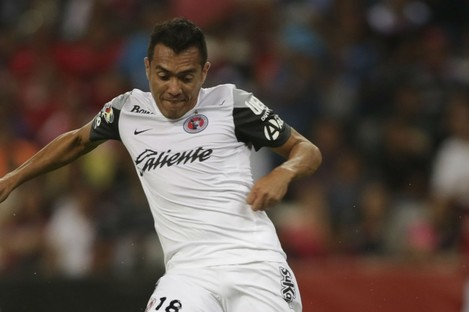 Club Tijuana's Juan Arango has been punished for an alleged bite.