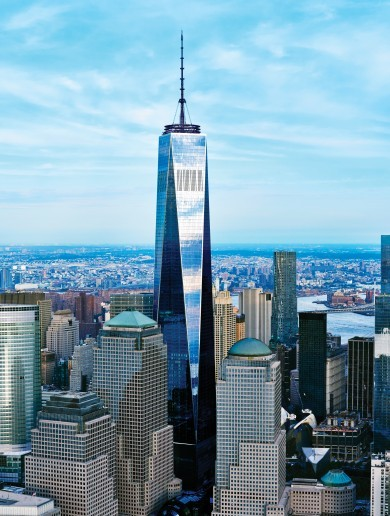 You're going to be able to go to the top of the World Trade Centre again - here's what you'll see