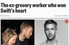This newspaper threw extreme shade at Calvin Harris