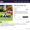 People are accusing this US presidential candidate of stealing his logo from Tinder