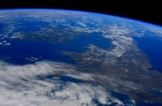 Ireland looked pretty damn good from space yesterday