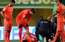 Celta Vigo accuse Barcelona's Busquets of 'taking the p***'