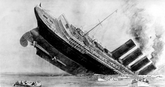 It's 100 years since the 'biggest human tragedy' ever off the Irish coast