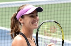 Hingis back in Fed Cup team after 17 years... and she's aiming to get to Rio next year