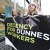 Thursday: Dunnes Stores strike... Friday: Dunnes Stores dismissals