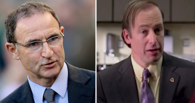 Who said it: Saul Goodman or Martin O'Neill?