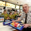 This 90-year-old man is McDonald's oldest employee in Europe