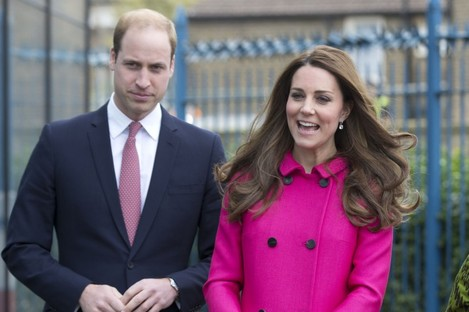 The real Wills and Kate.