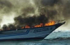 Young child dies in fire on board tourist-packed Thailand ferry