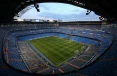 Can you identify these European football venues?