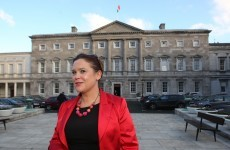 Mary Lou's sticking to her guns in her row with the Ceann Comhairle