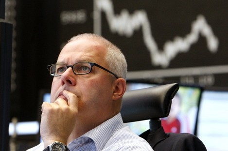Traders saw another uncertain day today.