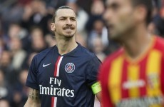 Zlatan has earned himself a lengthy ban for calling France a 's**t country'