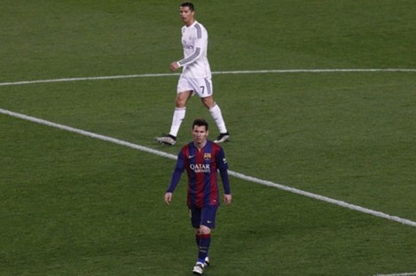 Messi and Ronaldo are widely considered to be the world's two best players.