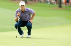 Spieth running away with the Masters after setting new 36-hole record
