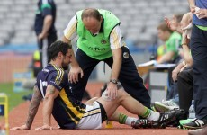 Touch and go: Galvin only named as sub for Sunday's semi