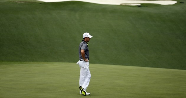 McIlroy's Grand Slam hopes fade before weekend at Augusta