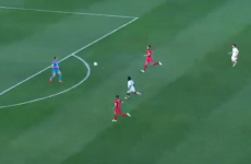 This is the most comical own goal you're likely to see as 'keeper produces almighty howler