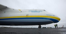 Photos: The world's largest jet is at Shannon Airport right now