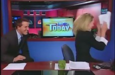 Watch this news anchor be duped into having a real life Ron Burgundy moment