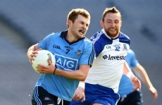 Dublin survive strong Monaghan challenge to book league final place against Cork