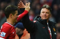 Van Gaal: Manchester United stars handled the pressure