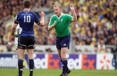 A familiar face will referee Leinster's Champions Cup semi-final with Toulon