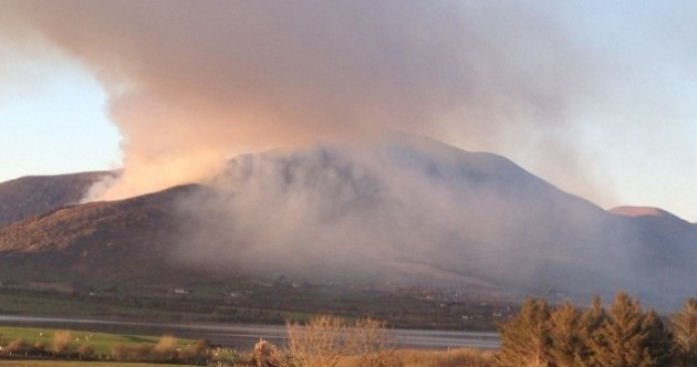 Gardaí want to know what caused the fires at Killarney National Park