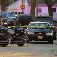 Driver shot to death after rushing to help young child he knocked down