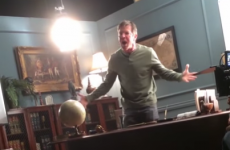 Dennis Quaid completely lost the rag on a film set - but it could just be a prank