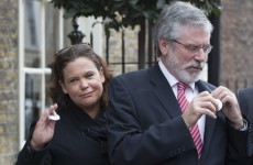'Text people, Facebook people, use Twitter': Gerry Adams asks for a 'Yes' vote