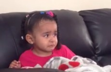 This girl watched Mufasa die for the first time and her reaction was seriously emotional