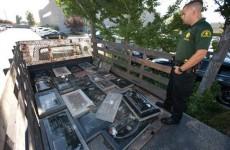 24 missing gravestones found during drugs raid