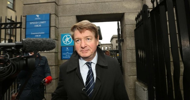Battle for Gorse Hill: Brian O'Donnell has been ordered to leave the Killiney mansion