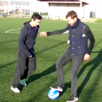 Jamie Dornan and Rory McIlroy had a kick about together and it was everything