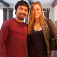 Ronda Rousey is on Team Pacquiao for the biggest fight of the year
