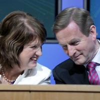 Enda and Joan look beyond water ... to getting your vote