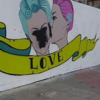 This Dublin marriage equality mural was vandalised hours after being painted