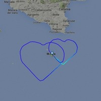 This couple got married and the airline they work for gave them the most romantic tribute