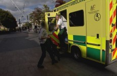 Watch: Man who took heroin overdose gets aggressive with Cork paramedics