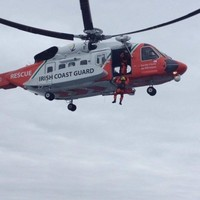 Irish Sea rescue after lobster boat carrying three men capsizes