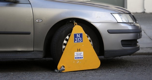 These are the Dublin streets where you're most likely to be clamped