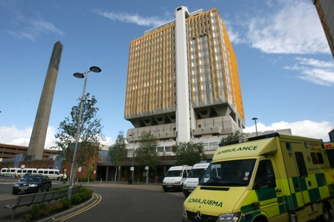 Belfast City Hospital, where Mr Lillis is being treated