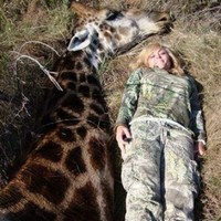 People are outraged this hunter posted a picture with a dead giraffe