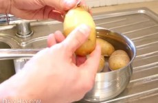 You have been peeling spuds wrong your entire life
